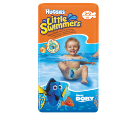 Huggies Little Svimmers Swim Nappies 12-18kg - 12 Nappies