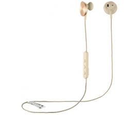 I.am+ Buttons Bluetooth Headphones - Gold