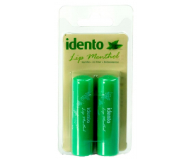 Idento Lip Menthol Lip Balm - 2 Items