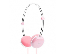 iLuv Sweet Cotton Headphones - Pink