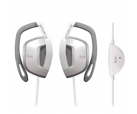 iLuv Active Sport Headphones- White