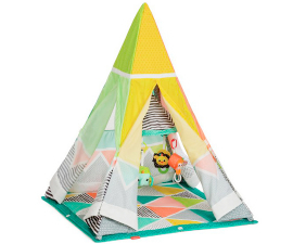Infantino Grow-With-Me Play Rug & Tipi