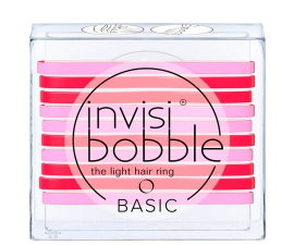 Invisibobble Basic Jelly Twist - 10 PCS