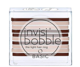 Invisibobble Basic Mocca & Cream - 10 PCS