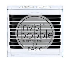 Invisibobble Basic True Black - 10 PCS