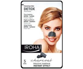 Iroha Charcoal Detox Cleansing Nose Strips - 5 pcs