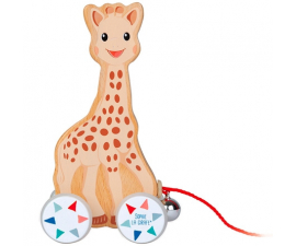 Janod Sophie La Girafe Pull Along Animal
