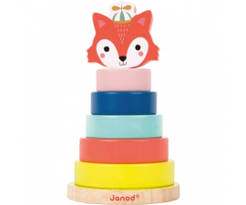 Janod Stackable Animal - Fox