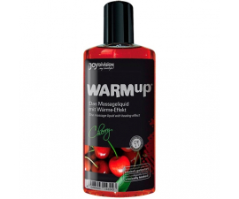 Joydivision WARMup Varmende Massage Oil Cherry - 150 ml