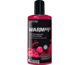 Joydivision WARMup Warming Massage Oil Raspberry - 150 ml