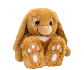 Keel Toys Soft Cuddle Bunny - Brown