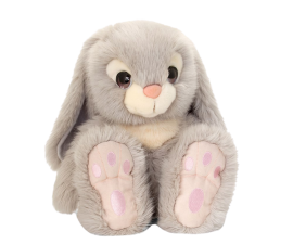 Keel Toys Soft Cuddle Bunny - Gray