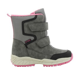Sprox Child's Boot - Grey & Pink
