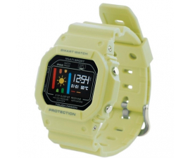 KSIX Retro Smartwatch - Green