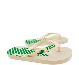 Lacoste Children's Sandals - White/Green