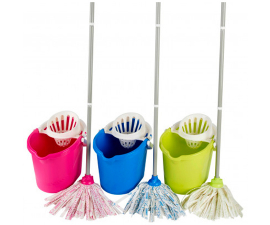 Leifheit Classic Color Edition Floor Mop with Bucket