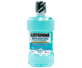Listerine Advanced Tartar Control Mouthwash - 500 ml