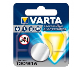 Varta CR2016 Button Cell Battery - 1 item.