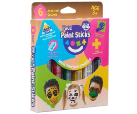 Little Brian Face Paint - 6 PCS