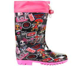 LOL Surprise Rubberboots - Sort & Pink