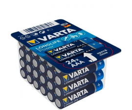 Varta Longlife Power AAA Batteries - 24 pack