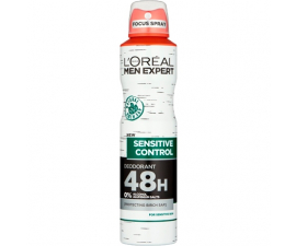 L'Oreal Men Expert Sensitive Control Deodorant - 250 ml
