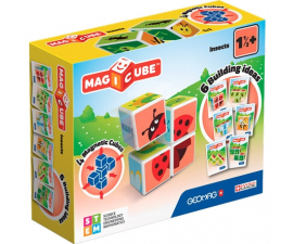 Geomag Magicube Magnetic Building Blocks - Insects