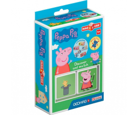 Geomag Magicube Peppa Pig Discover & Match