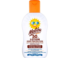 Malibu High Protection Kids Sun Cream SPF 50 - 200 ml