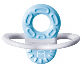 MAM Bite and Relax Teething Ring - Blue 2 months
