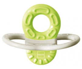 MAM Bite and Relax Teething Ring - Green 2 Months