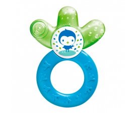 MAM Cooler Teething Ring- Blue