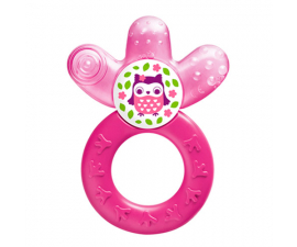 MAM Cooler Teething Ring - Pink