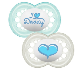 MAM Style 6+ months Pacifier Blue - 2 items