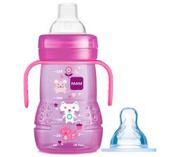 MAM Trainer 2 in 1 Cup - Pink