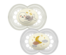 MAM Night Pacifier 6+ months - 2 pcs