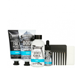 Man'Stuff Overnight Kit Gift Box