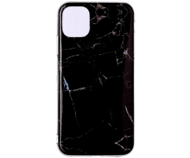 BasicPlus iPhone 11 Cover - Black Marble