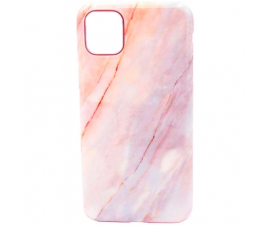 BasicPlus iPhone 11 Pro Cover - Pink Marble