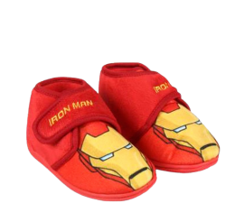 The Avengers Iron Man House Slippers