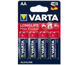 Varta Longlife Max Power AA Batteries - 4 pack