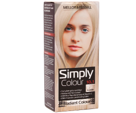 Mellor & Russell Simply Colour Hair Color - 10.1 Extra Light Blonde