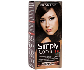 Mellor & Russell Simply Colour Hair Color - 3.0 Natural Dark Brown