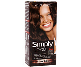Mellor & Russell Simply Colour Hair Color - 6.0 Natural Light Brown