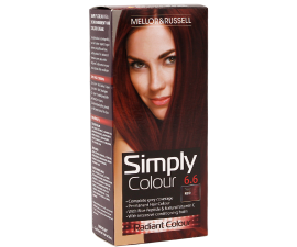 Mellor & Russell Simply Colour Hair Color - 6.6 True Red
