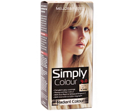 Mellor & Russell Simply Colour Hair Color - 9.0 Natural Light Blonde