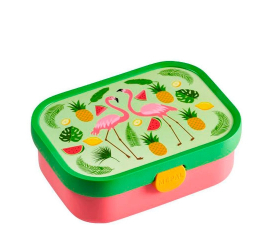 Mepal Lunchbox with Insert - Tropical Flamingo