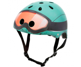 Mini Hornit Child's Cycle Helmet - Military