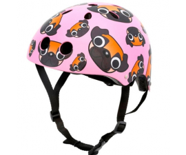 Mini Hornit Child'e Cycle Helmet - Pug Puppies