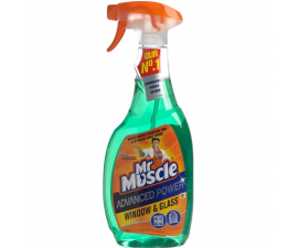 Mr Muscle Advanced Power Glass Cleaner - 750 ml